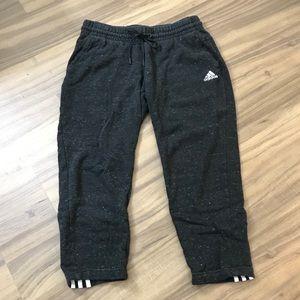 Adidas Heather Grey Sweatpants